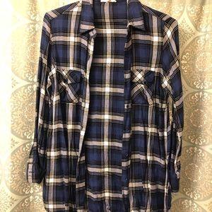 BB Dakota blue flannel